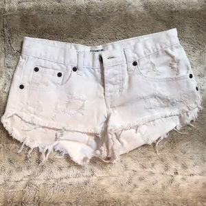 One teaspoon shorts!